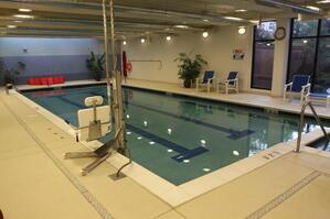 Marjorie P. Lee - Indoor Pool