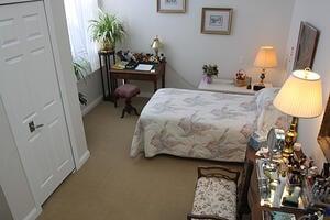 Marjorie P. Lee - Bedroom
