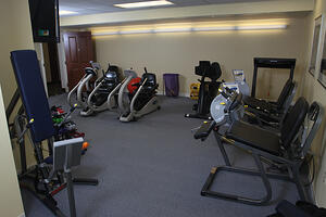 Marjorie P. Lee - Fitness Room