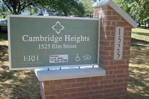 Cambridge Heights - Sign