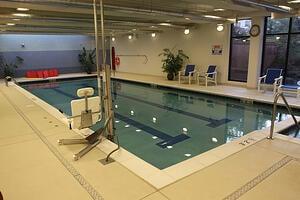 Marjorie P. Lee - Indoor Lap Pool