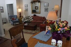 Marjorie P. Lee - Living Room