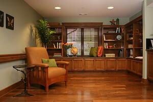 Craftsman Cottage - Study