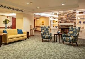 Marjorie P. Lee - Care Center Living Room