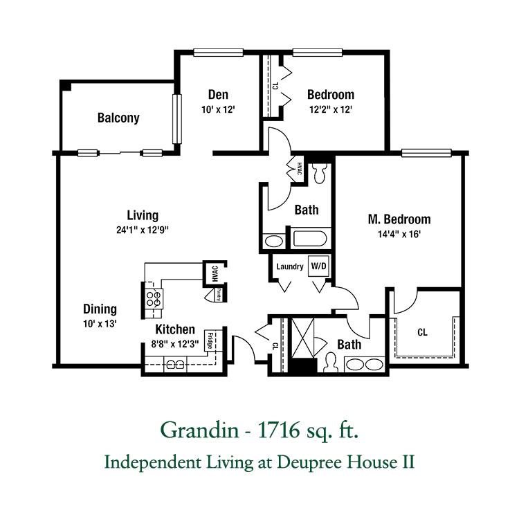 Deupree House - Grandin