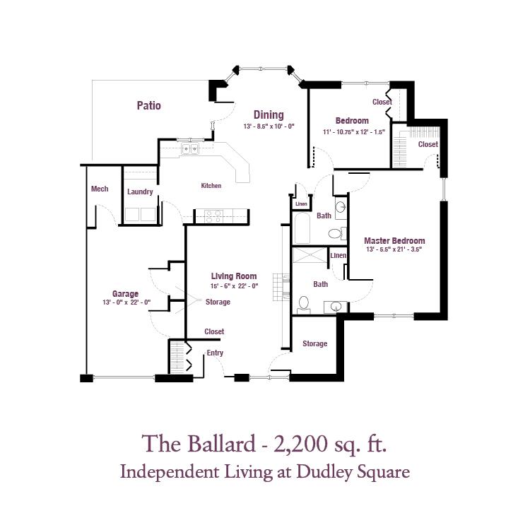 ECH - The Ballard Floor Plan