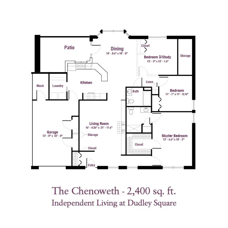 ECH - The Chenoweth Floor Plan