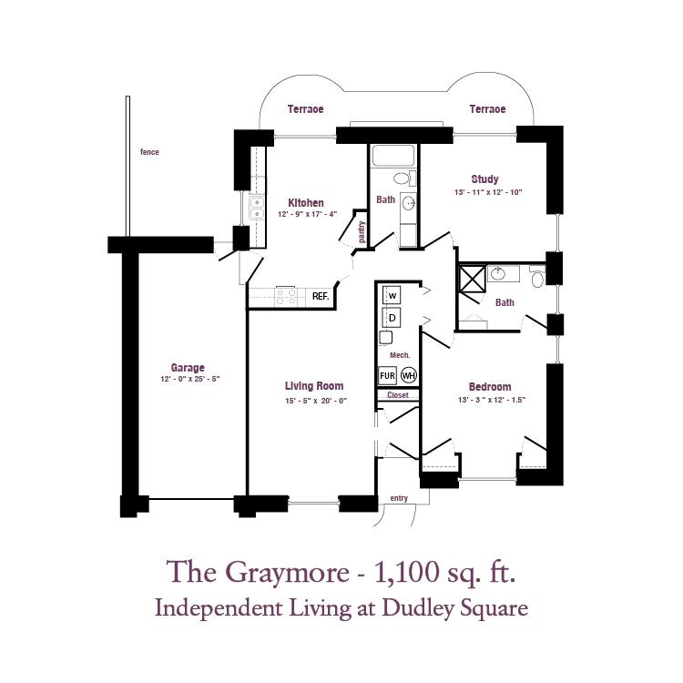 ECH - The Graymore Floor Plan