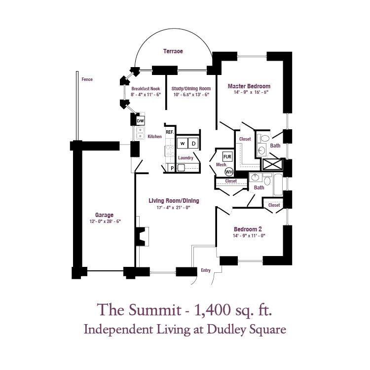 ECH - The Summit Floor Plans