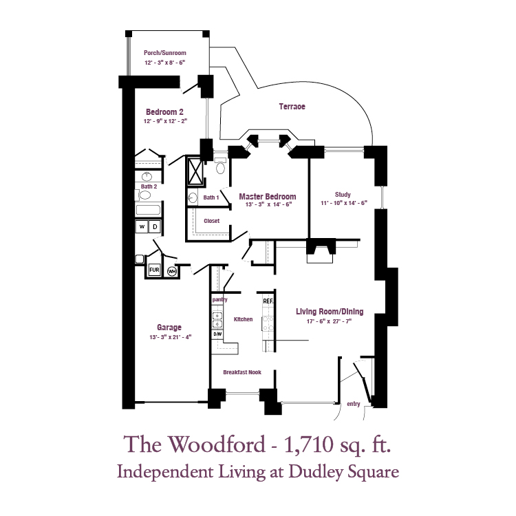 ECH - The Woodford Floor Plan