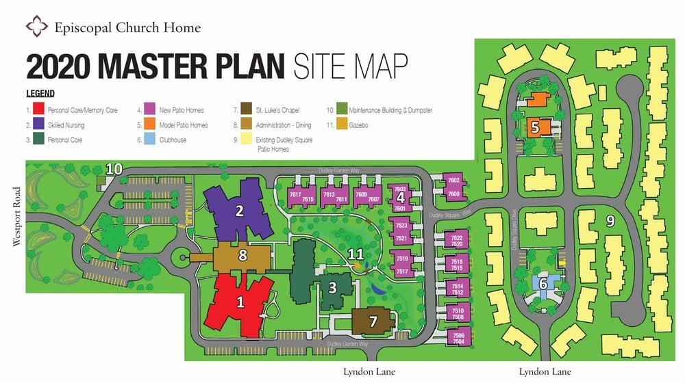 ECH Master Plan Site Map