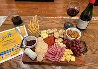 Jordan Lamb cheese tray