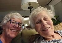 Sue Pontius and Barb Stein