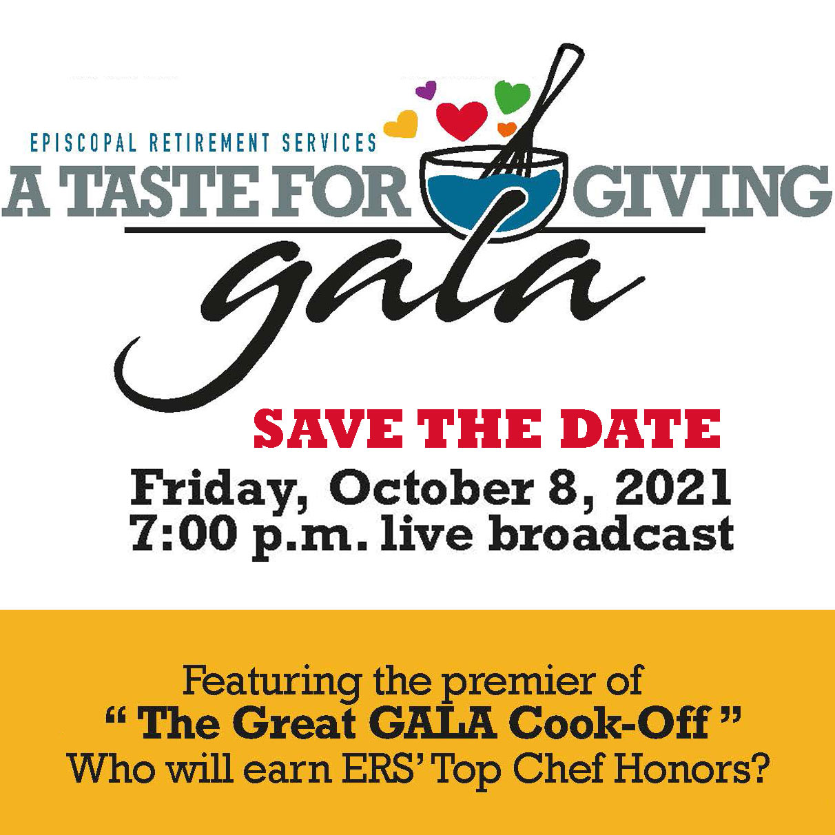 A Taste For Giving Virtual Gala by ERS