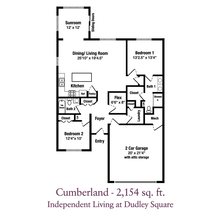 ECH Dudley Square Patio Homes - Cumberland