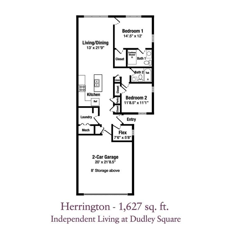 ECH Dudley Square Patio Homes - Herrington