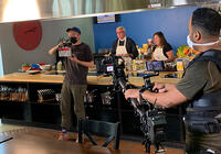 Great Gala Cook-off Filming