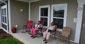Trent Village Senior Living - Patio