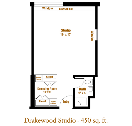 Marjorie P. Lee - Drakewood Floor Plan