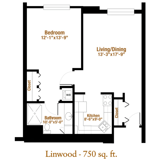 Marjorie P. Lee - Linwood Floor Plan