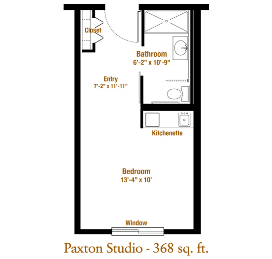 Marjorie P. Lee - Paxton Floor Plan