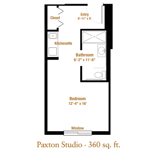 Marjorie P. Lee - Paxton II Floor Plan