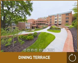 Marjorie P. Lee - Virtual Tour - Dining Terrace