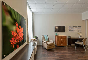 Marjorie P. Lee - Shaw Short-term Rehab Room