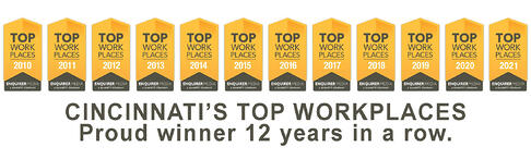 ERS is a Top Workplace in Great Cincinnati. Proud winner for 11 straight years.