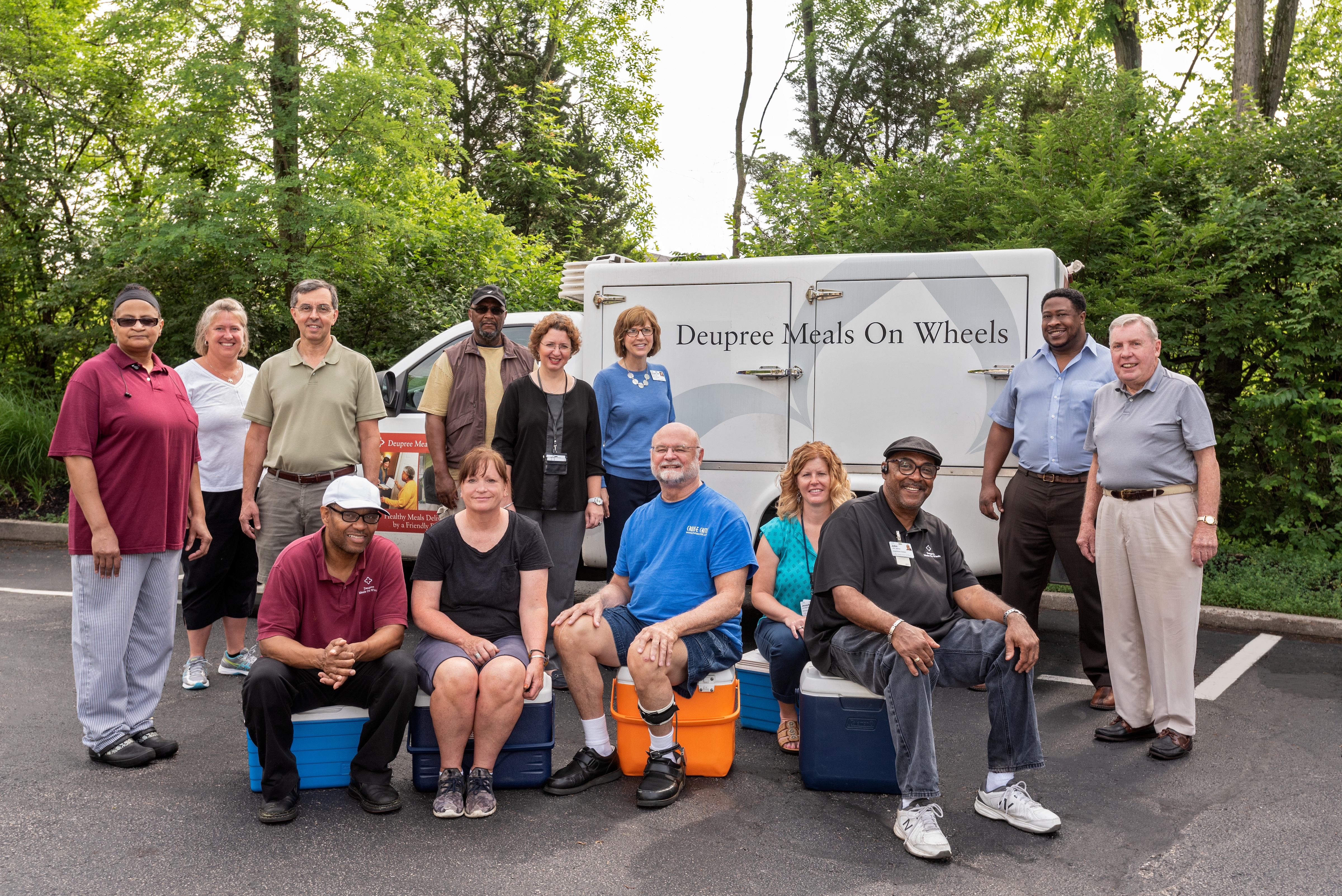 Deupree Meals On Wheels Staff and Volunteers