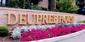 Deupree House - Entrance