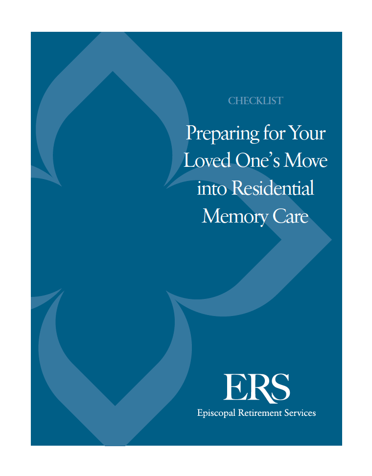 Memory Care Checklist by ERS