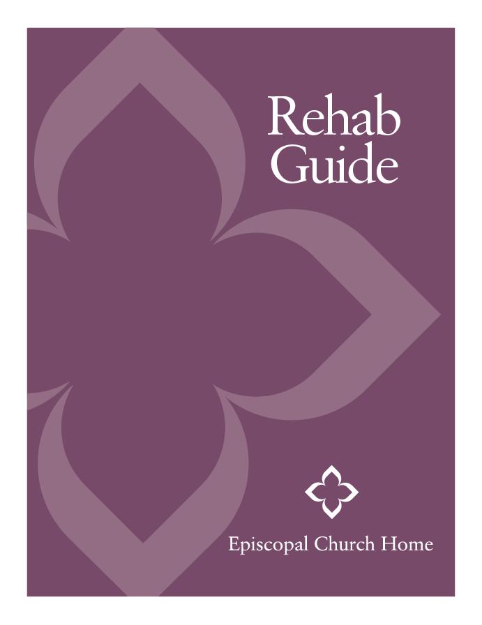Short-term Rehab Guide by Episcopal Church Home